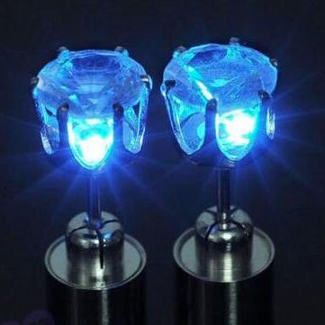 Светящиеся LED серьги оптом