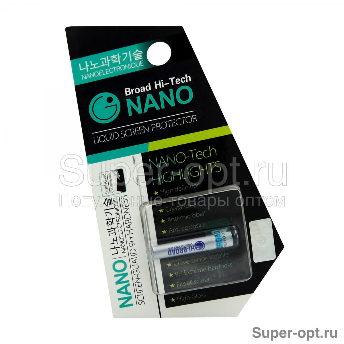 Жидкая защита экрана Broad Hi-Tech NANO оптом