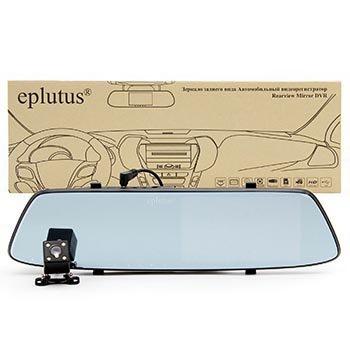Зеркало-видеорегистратор Eplutus D-06 Full HD с камерой заднего вида оптом