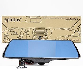 Зеркало-видеорегистратор Eplutus D-36 с камерой заднего вида оптом