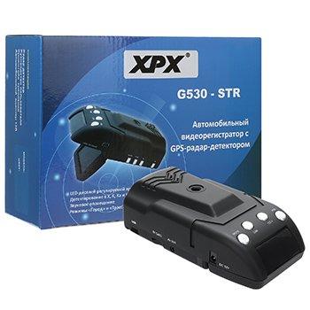 Автомобильный видеорегистратор с GPS и антирадаром XPX G530-STR оптом