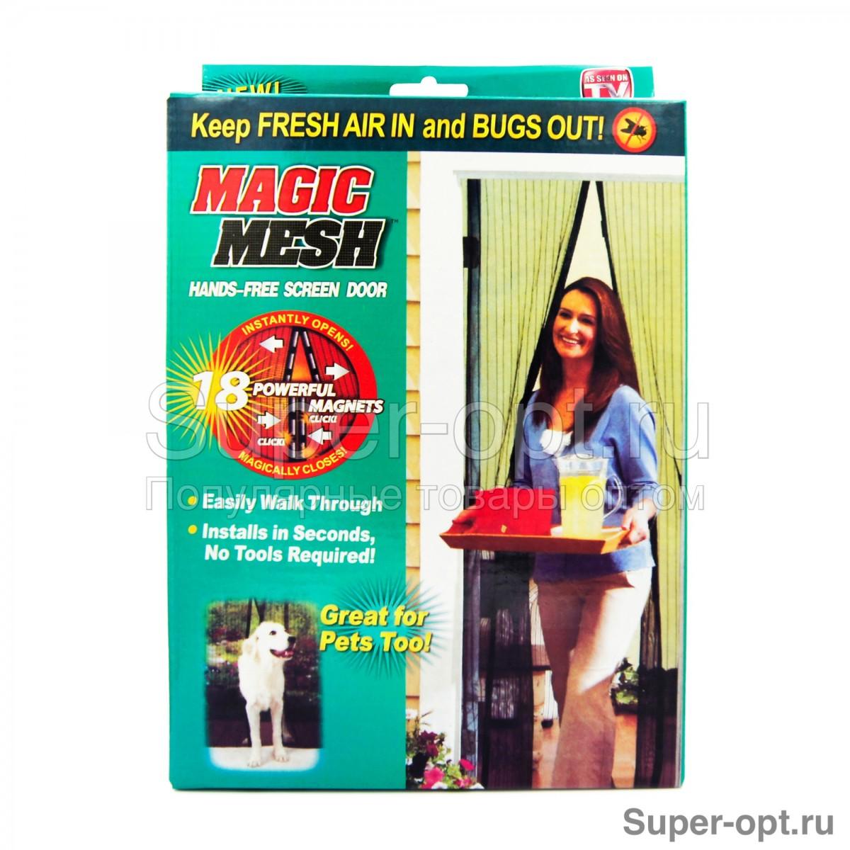 Москитная сетка Magic Mesh оптом
