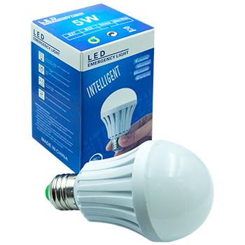 Магическая лампочка Intelligent LED Emergency 5W оптом