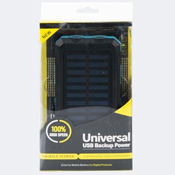 Power Bank на солнечных батареях Solar Power Box 25000 mAh оптом