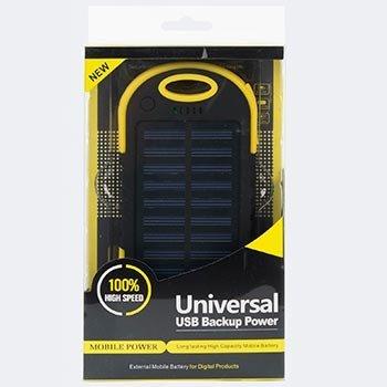 Power Bank на солнечных батареях Solar Charger 5200 mAh оптом