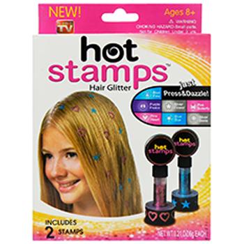 Цветные штампы для волос Hot Stamps оптом